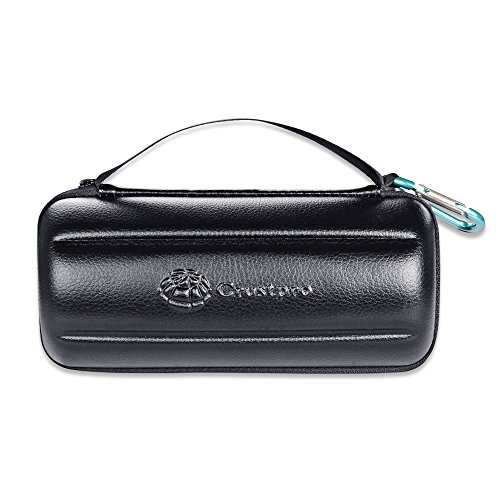 Bose SoundLink Revolve+ Plus Wireless Bluetooth Speaker Portable Hard Carrying Case Travel Bag (Black) by Esimen (Image #5)