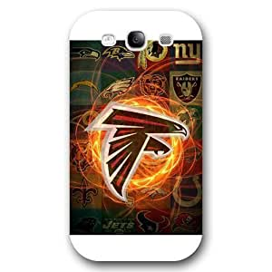 Customized NFL Series For SamSung Galaxy S4 Mini Case Cover NFL Team Atlanta Falcons Logo For SamSung Galaxy S4 Mini Case Cover Only Fit for For SamSung Galaxy S4 Mini Case Cover (White Frosted Shell)