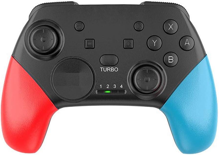 Irjdksd Manette de jeu sans fil Bluetooth pour Switch Pro