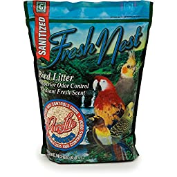 Absorbtion Corp Pet Products Fresh Nest Purelite Litter, 600 Cubic Inch, Green
