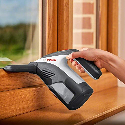 Nettoyeur de vitres sans-fil Bosch - GlassVac Edition Set (Livré avec ses accessoires et emballage en carton) - Home Robots