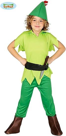 Disfraz de Peter Pan (Talla 7-9 años): Amazon.es: Juguetes y juegos