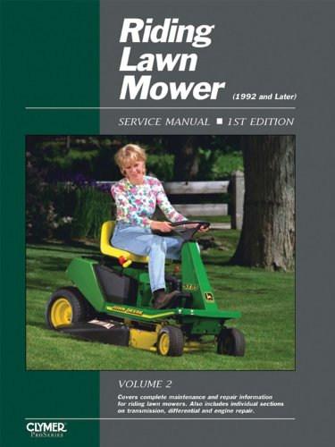 Riding Lawn Mower Service Manual: Volume 2, 1992 and Later (Riding Lawn Mower Service Manual)