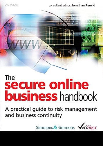 The Secure Online Business Handbook: A Practical Guide to Risk Management and Business Continuity, 4/e-cover