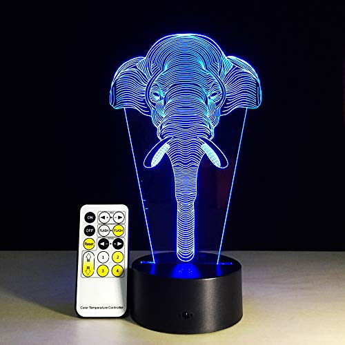 DC flash 3D luz de la noche luz de la luna luz en casa mesa de ...