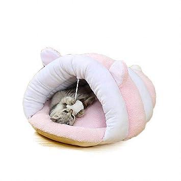 HYD Nido y sofá para Mascotas - Limpieza Conveniente Plegable Suave Cómodo Transpirable Base Antideslizante portátil Cama para Mascotas Estera para Mascotas ...