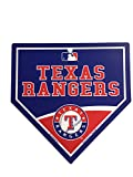 "Texas Rangers MLB 9.25""x9.25"" Home Plate Street Sign"