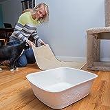 Easyology Large Disposable Cat Litter Box - Odor