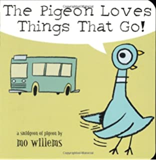 The pigeon has feelings too mo willems 9780786836505 amazon the pigeon loves things that go fandeluxe Image collections