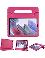 ProCase Galaxy Tab A7 Lite 8.7 2021 Kids Case (T220 T225 T227), Shock Proof Convertible Handle Stand Cover Lightweight Kids Friendly Protective Case for 8.7 inch Samsung Galaxy Tab A7 Lite 2021 –Magenta