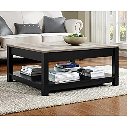 Peachy Altra Carver Coffee Table Matte Black Painted Finish Onthecornerstone Fun Painted Chair Ideas Images Onthecornerstoneorg
