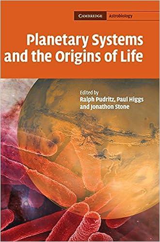 planetary systems and the origins of life higgs paul pudritz ralph stone jonathon