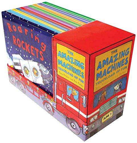 Amazing Machines: Truckload of Fun (10-Book Set)