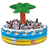 Amscan International Inflatable Cooler Tropical Palm Hawaiian
