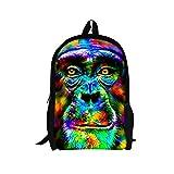 TOREEP Galaxy Print Casual School Backpack Outdoor Travel Bag