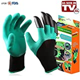 As Seen On TV GG-CD6 Gardening Gloves, One Size