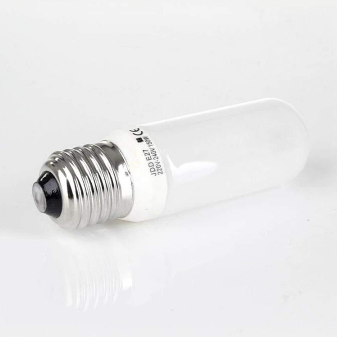 Zinniaya Flash Universal 250w 150w Tornillo de fotograf/ía E27 Bombilla de Modelado Jdd Professional Studio Light