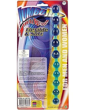NMC - Thai Beads Jumbo Jelly - cadena anal para hombres y mujeres - 27,
