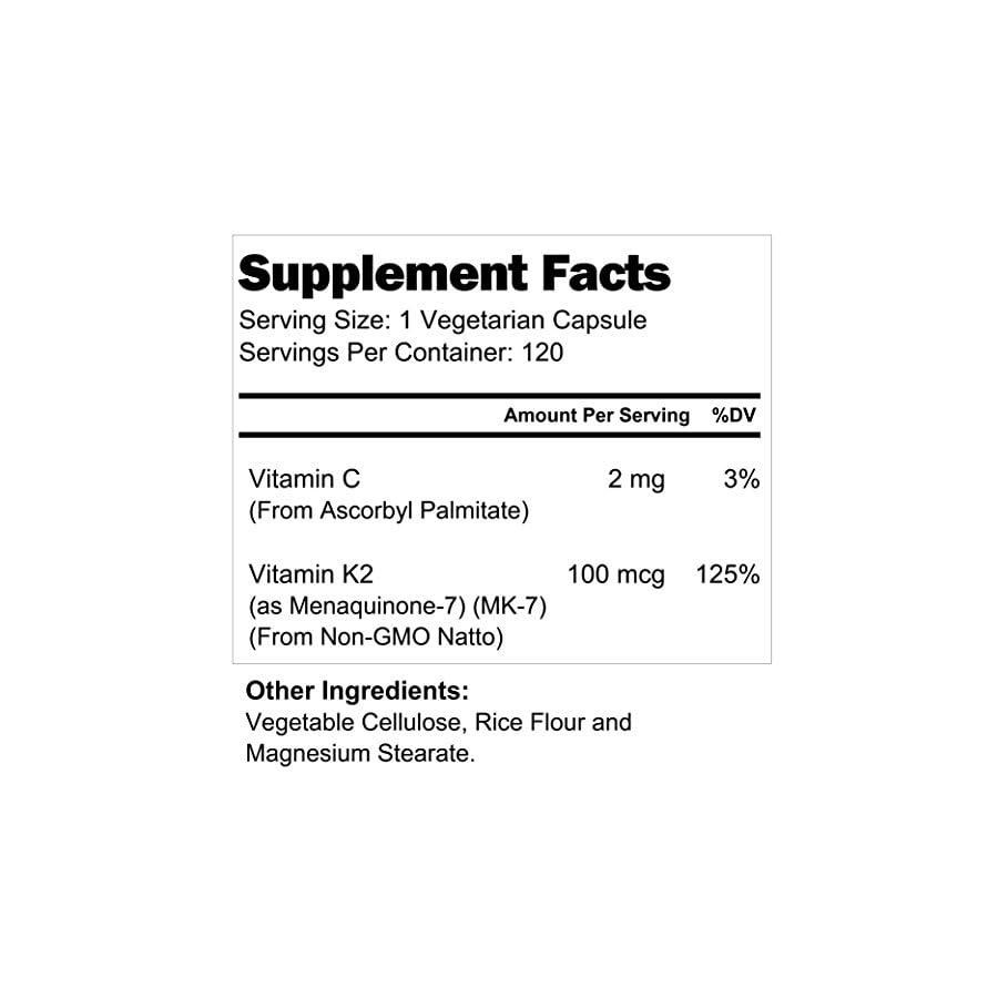 Vitamin K2 MK 7