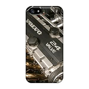Unique Design Iphone 5/5s Durable Cases Covers Volvo 24 Valve