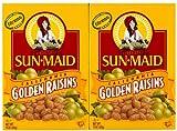 Sun Maid Golden Raisins, 15 oz, 2 pk