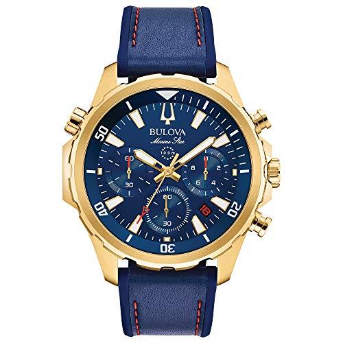 Bulova Men's Marine Star - 97B168 Blue One -