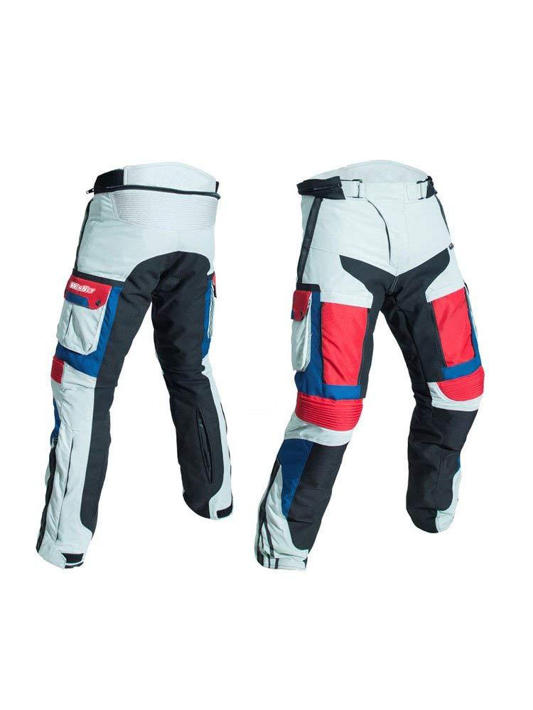 L WinNet Completo tuta moto in cordura giacca e pantaloni per turismo