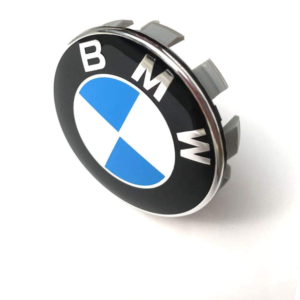 68mm BMW Rim Center Hub Caps for All Models with BMW Wheels Logo Blue /& White Color Wheel Center Caps Emblem