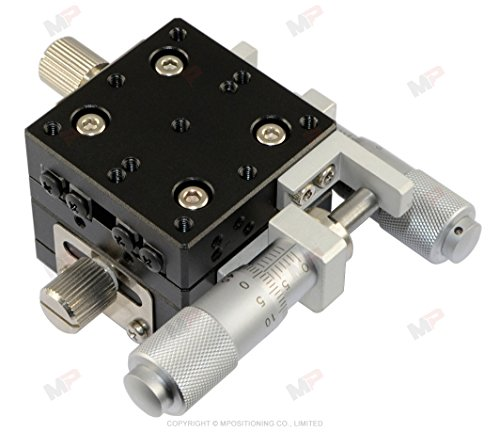 MPositioning T40XY-13R Precision XY Linear Translation Stage 13 mm Travel in 2-Axis 40 x 40 mm Platform Size