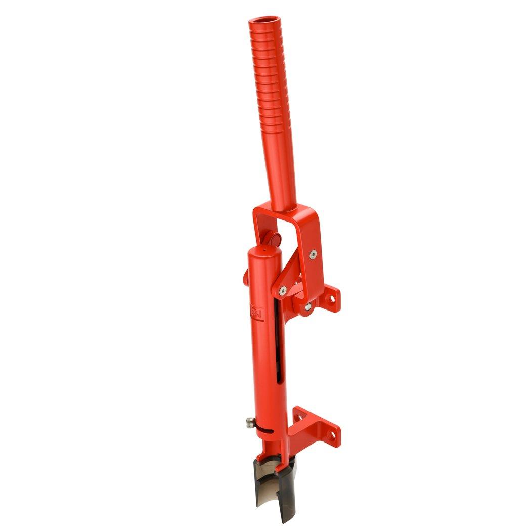 BOJ Professional Wall-mounted Corkscrew Wine Opener Model 110 (Red) by BOJ (Image #3)