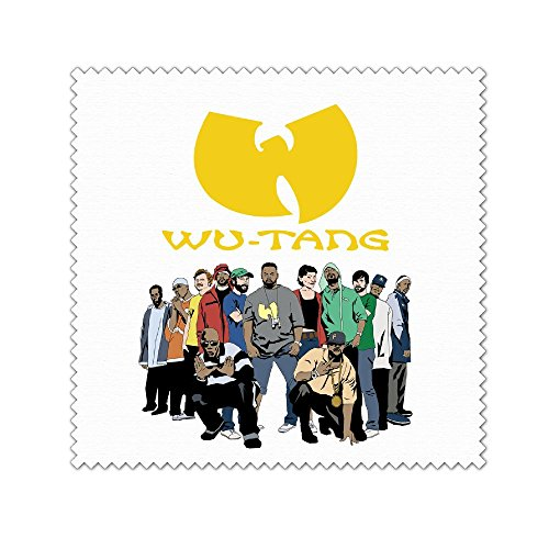 Wu Tang Microfiber Cleaning Cloth For Cleaning Glasses,Camera Lenses,Phones,Tablets,Flat Screen TVs,iPad,iPhone