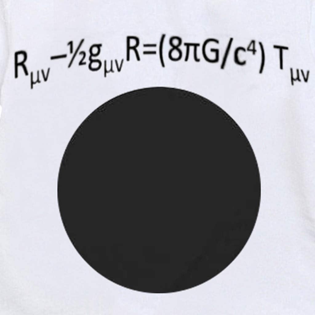 Womola Baby Romper Jumpsuit Short Sleeve Black Hole Relativistic Formula Cute Casaul Clothes