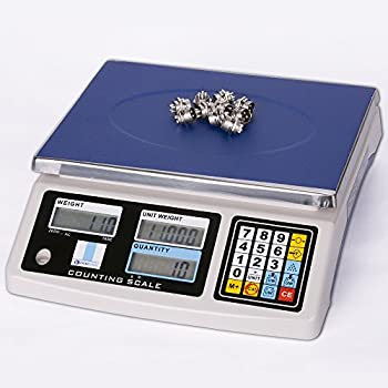 Prime Scales 66lbs / 0.001lb Counting Scale with 4 Weighing Units | Check Weighing | Dual Counting Function