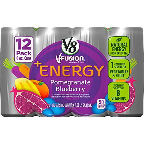 V8 +Energy Pomegranate Blueberry, 12 Count