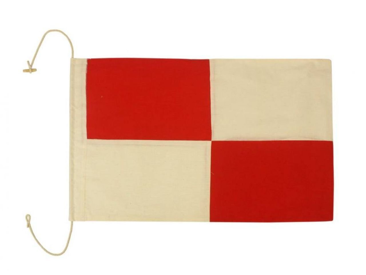 Hampton Nautical Letter U Nautical Cloth Alphabet Flag, Decor, Home Decoration, Wall Art Tool, 20
