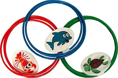 Swim Thru Rings, 3 Pack (Premium pack) by Water Sports. (Image #1)