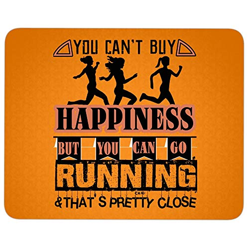 You Can Go Running Mouse Pad for Typist