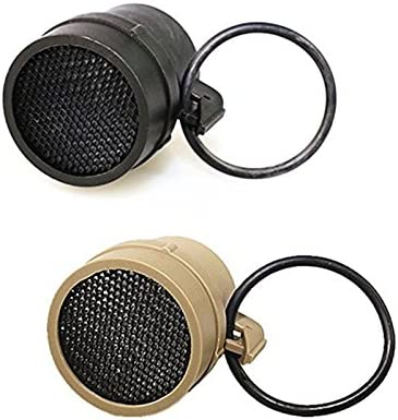 HWZ Scope Round Meshy Cover Kill Flash Anti-Reflection Device for ACOG 4 X 32 Scope