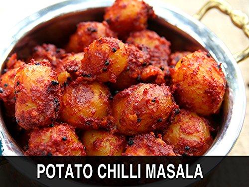 Potato Chilli Masala Ruchkar Mejwani Karwar Special