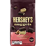 HERSHEY'S Nuggets Chocolate Candy, Special Dark with Almonds, 10.56 Ounce