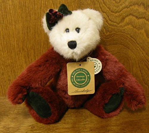 Boyds Bears Plush GWENDOLYN 9189102 Archive Bear Christmas