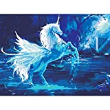 fairy paint by number - Peyan High-class Unicorn Oil Painting Diy by Numbers Paint by Number Kits — PBN Kit for Adults Girls Kids Birthday Gift Decor Decorations Gifts (16
