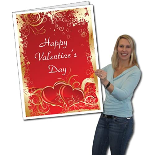 2'x3' Giant Valentine's Day Card W/Envelope Sales