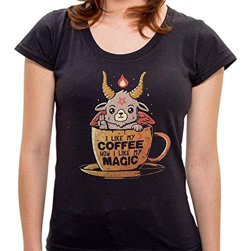 Mo - Camiseta Black Coffee - Feminina - G