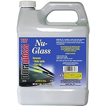 Duragloss 757 Automotive Glass Water Spot Remover - 1 Gallon 0