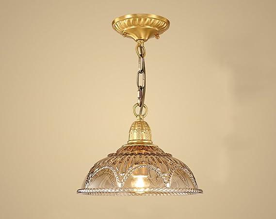 Illuminazione Soggiorno Cucina : Home mall lampada da soffitto in rame lampadario soggiorno cucina