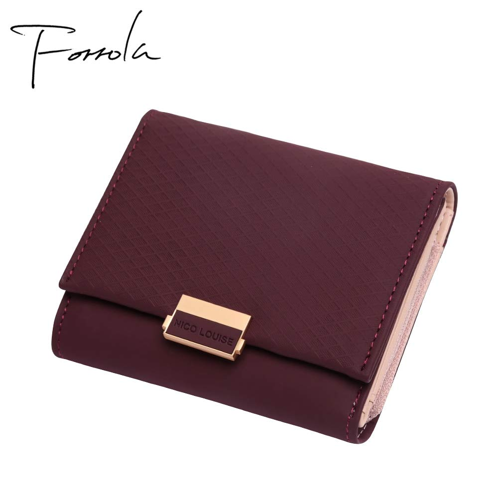 a958ad996 Luxury Wallet Female Leather Women Leather Purse Plaid Wallet Ladies Hot  Change Card Holder Coin Small Purses For Girls at Amazon Women's Clothing  store: