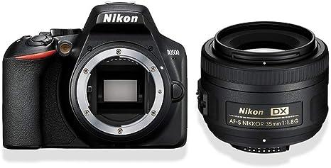 Nikon D3500 + AF-S DX 35mm f / 1.8 Juego de cámara SLR 24,2 ...