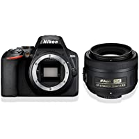 Nikon D3500 KIT AF-S DX 35 mm 1:1,8G (24,2MP, 3 Zoll Monitor, ISO 100 - 25.600)