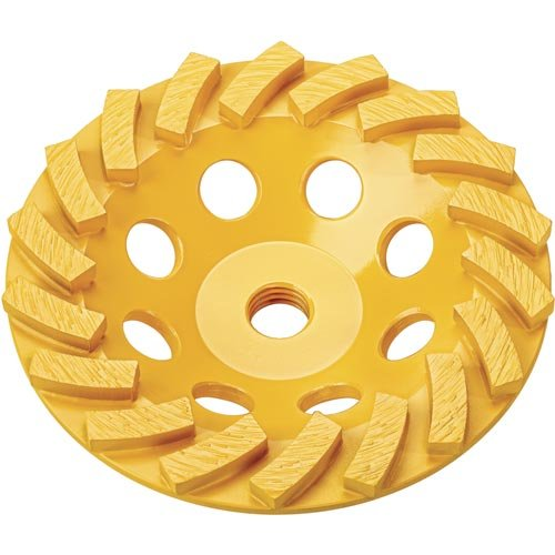 DEWALT Grinding Wheel, Diamond Cup, 5-Inch (DW4777T) by DEWALT